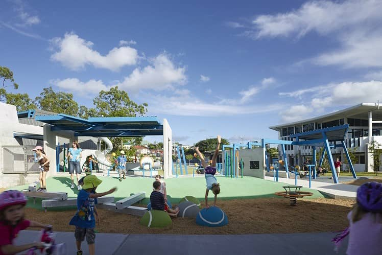Brisbane Frew Park Playground