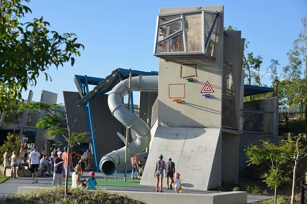 Playground Brisbane Frew Park
