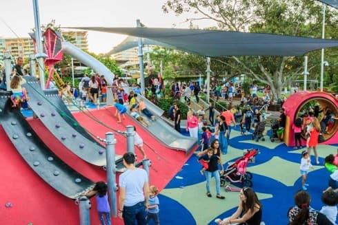 Riverside Green Playground Brisbane