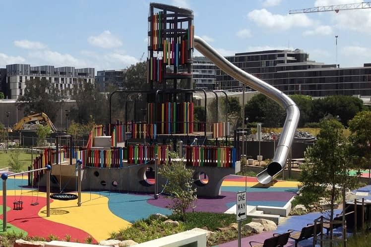 Sydney Wullaba Park Playground
