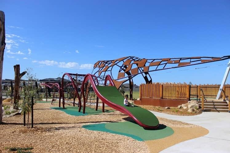 The Megasaurus Playground Melbourne