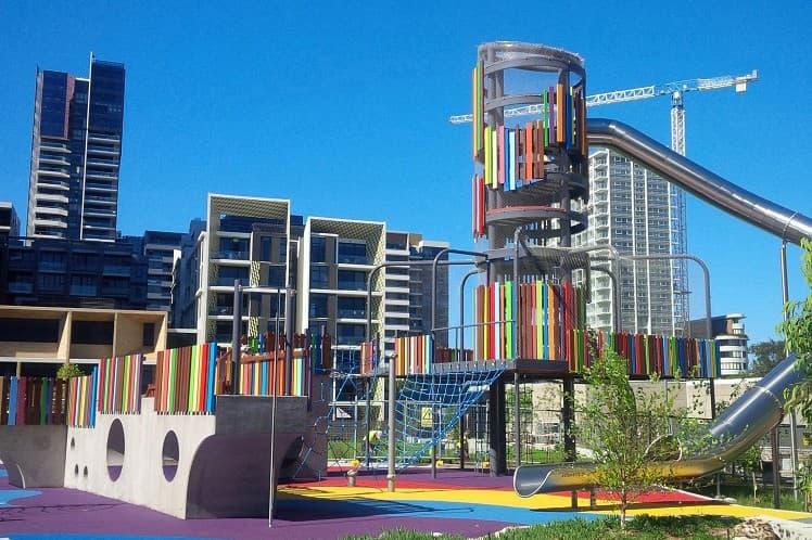 Wulaba Park Sydney Playground