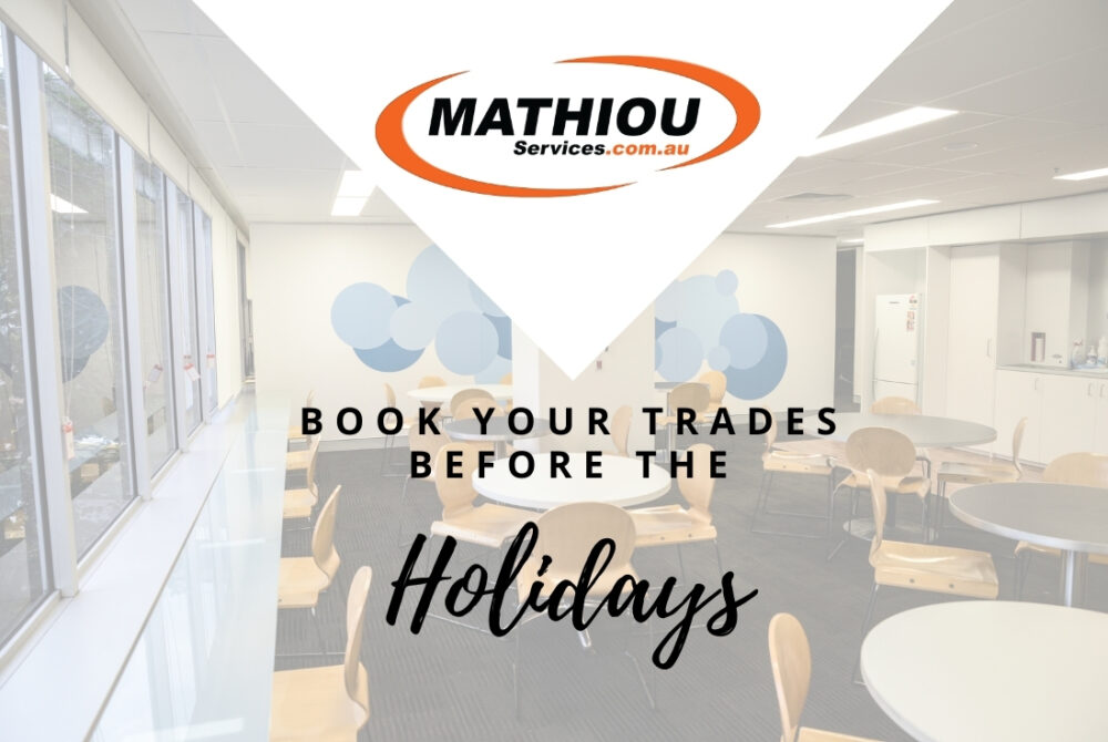 Book your trades before holidays