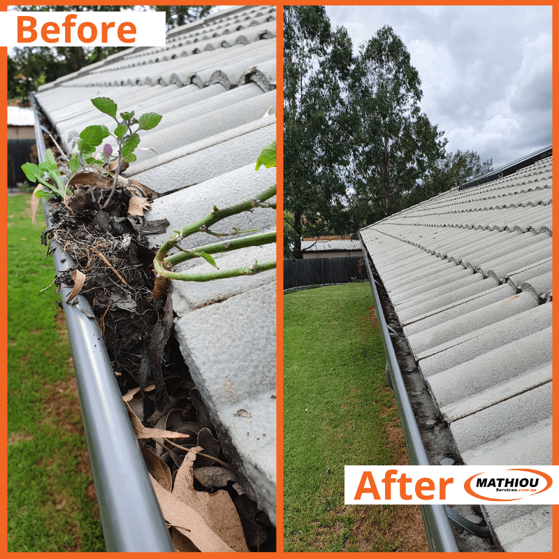Commercial Gutter maintenance and repair