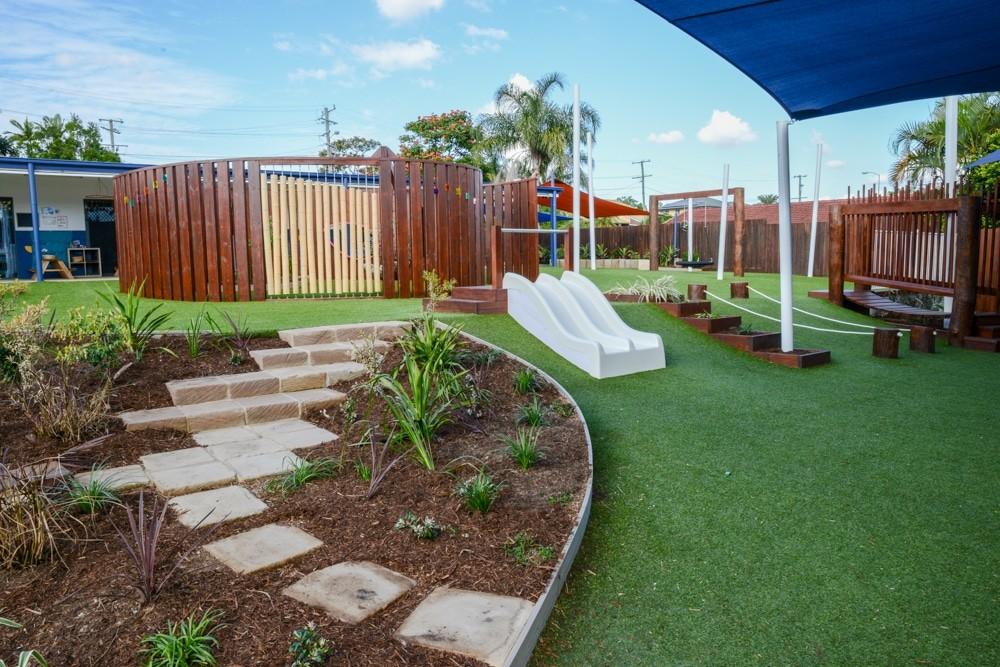 Playground upgrade in QLD