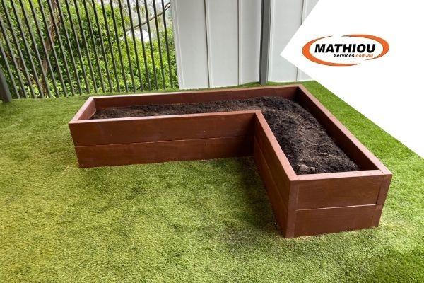 L Shaped - Garden beds