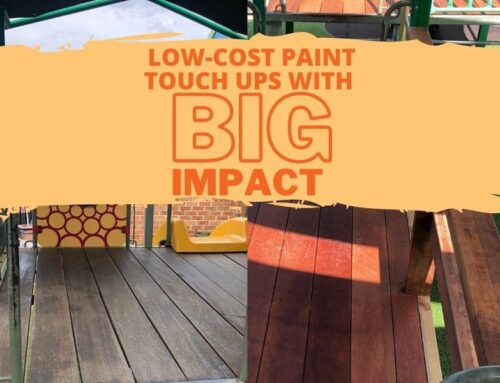 Low-cost paint touch ups with a big impact