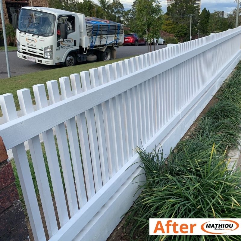 Low cost paint touch ups with big impact-94092A - paint fence