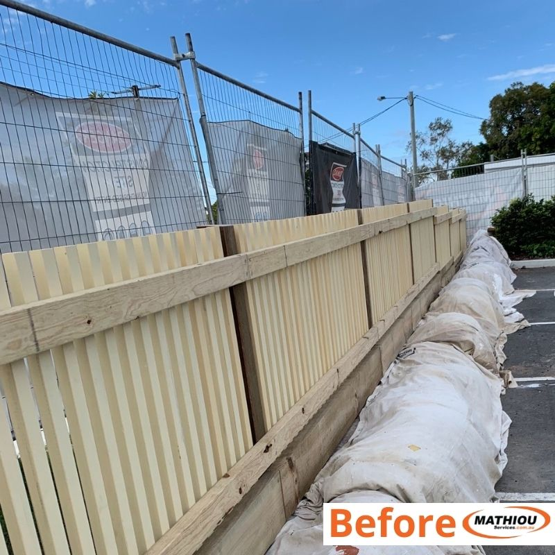Low cost paint touch ups with big impact- 94092B - paint fence